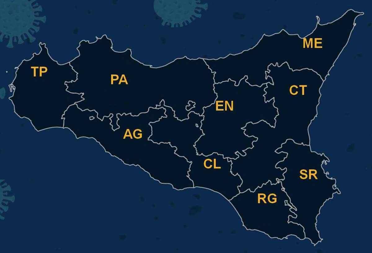 Covid: virus rallenta in Sicilia, quasi 24% in meno positivi nell'ultima settimana