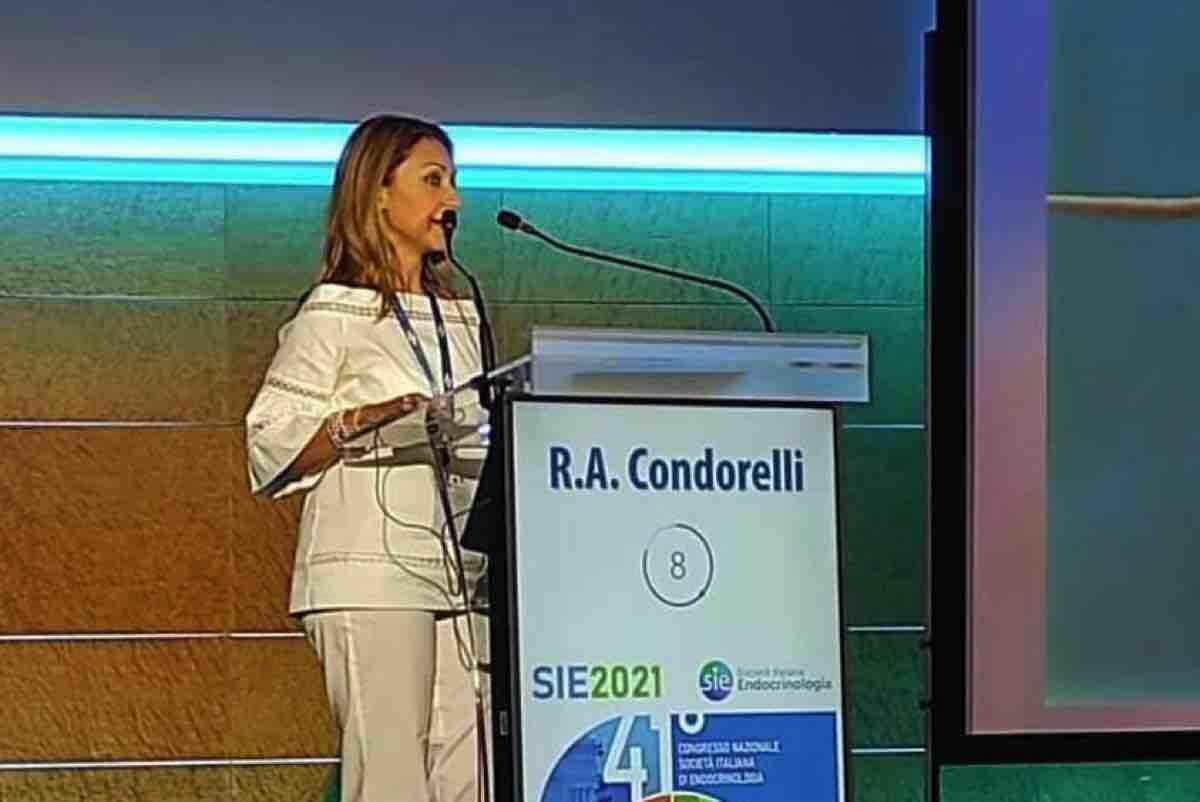 Alla docente Rosita Angela Condorelli il premio di miglior ricercatore endocrinologo under 40