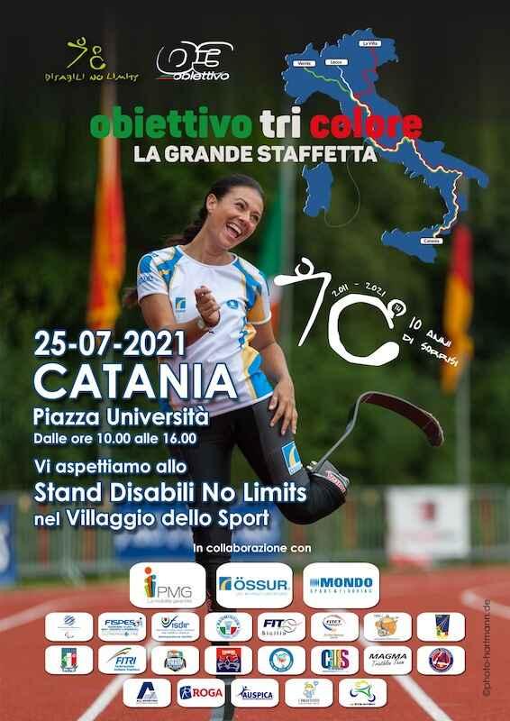 Sport e disabilità in Piazza Università, domenica 25 luglio con Giusy Versace